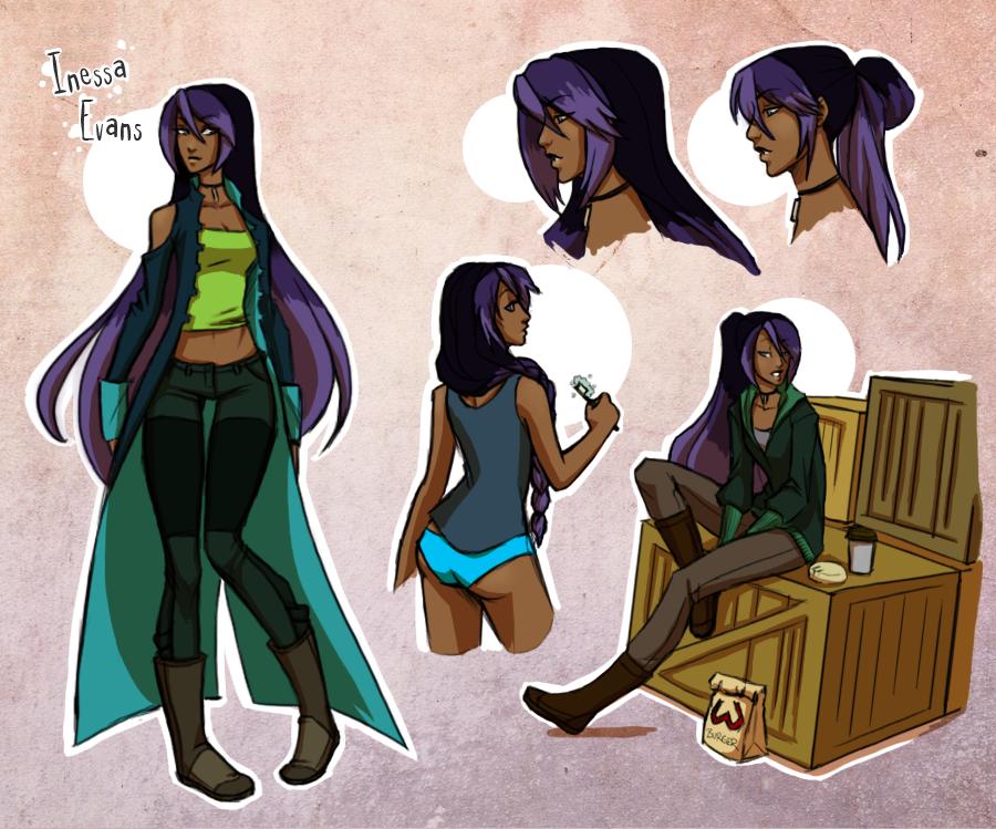Character Design  - Inessa